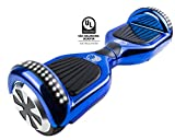 Gyrocopters Pro 2.0 - Hoverboard Chrome Blue UL2272 certified With GPS, APP, Bluetooth