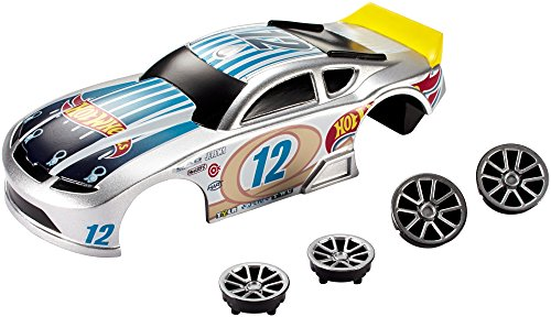 Hot Wheels Ai Speedway Spoiler Car Body & Wheels Custom Kit