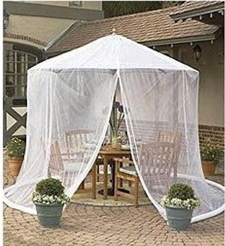 Good Amazon.com : Umbrella Mosquito Net Canopy Patio Set Screen House Black :  Outdoor Canopies : Patio, Lawn U0026 Garden