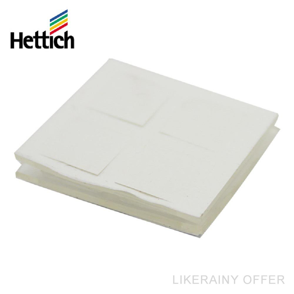 6 x 8 Pcs) Hettich Premium Clear Silicone Rubber Door Buffer Self ...