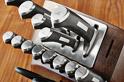 Calphalon Precision Self-sharpening 15-piece Knife Block Set, with SharpIn Technology (1932941) by Calphalon (Image #3)