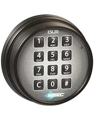 Amsec 0615786 ESL20XL Standard Bolt Electronic Safe Lock