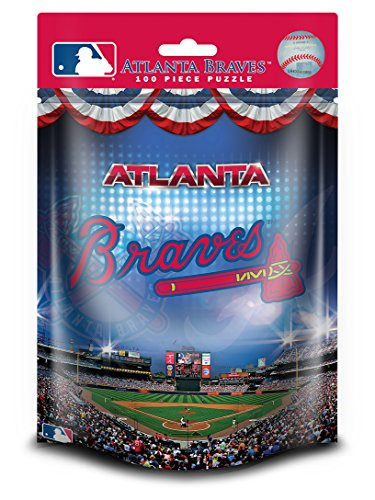 MasterPieces MLB Atlanta Braves Pouch Jigsaw Puzzle, - Hours Atlanta Of Outlets