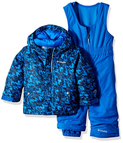 Columbia Kids & Baby Toddler Kids Buga Set, Super Blue Arrow Print, - Snowsuit Super