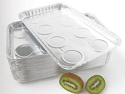 Durable Packaging Aluminum Foil Toaster Oven Tray - #3300 (250) by Durable Packaging (Image #2)