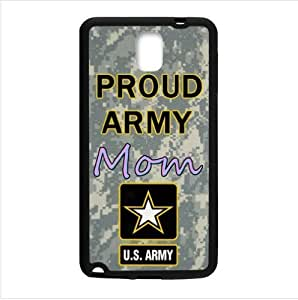 Case ,Proud Army Mom Proud Army Samsung Galaxy Note 3 III TPU (Laser Technology) Case, Cell Phone Cover
