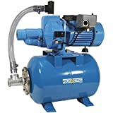BurCam 503728 Convertible Cast Iron Jet Pump on ML60H Tank, 3/4 hp, 115/230V