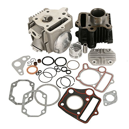 XMT-MOTO 39mm Bore Cylinder Head Piston Engine Rebuild Kit For Honda Z50R XR50 CRF50 50CC