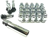 West Coast Accessories W55125S 12 mm x 1.25'' Spline Closed End Wheel Lug Nut Installation Kit - 5 Lug