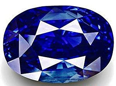 ebc2f40174389 Buy Ramneek jewels 9.25 Ratti Blue Sapphire Gemstone for Unisex ...