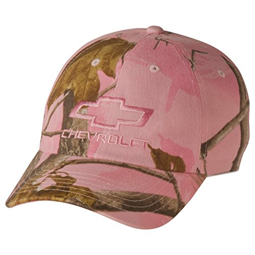 Big Save! Women's Chevy Bowtie Realtree Hardwoods Pink Camo Hat