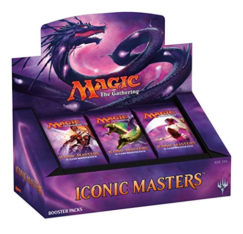 Magic the Gathering Iconic Masters Factory Sealed Booster Box MTG Card Game - 24 packs