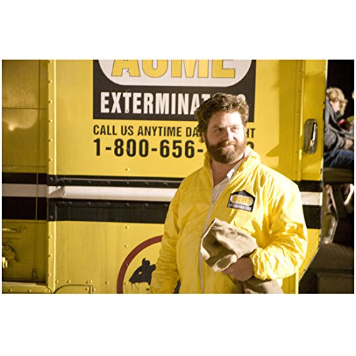 G-Force Zach Galifianakis as Ben in Yellow Exterminator Outfit 8 x 10 inch photo]()