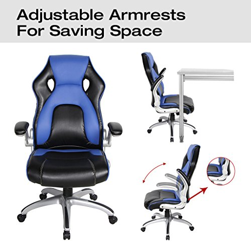 Viva Office High Back Bonded Leather Gaming Chair With