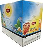 Lipton, Refresh SWEET TEA Iced Tea K-Cup Portion Packs for Keurig Brewers, 22 Count (Pack of 2)