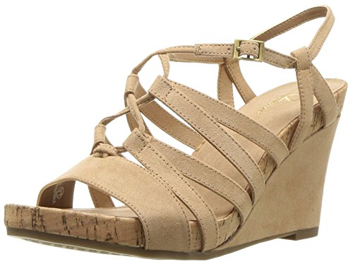 Wedge Women's Poppy Light Sandal Aerosoles Plush Tan 87qxnt6w
