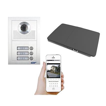 Amazon.com : GBF Smart Video Intercom Doorbell System for Multi-unit ...