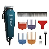 Wahl Professional Animal U-Clip Pet, Dog, and Cat Clipper and Grooming Kit (#9484-400)