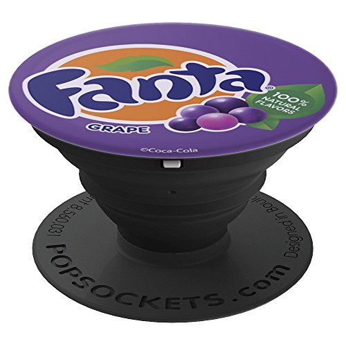 Coca-Cola Fanta Logo Grape Flavor - PopSockets Grip and Stand for Phones and Tablets