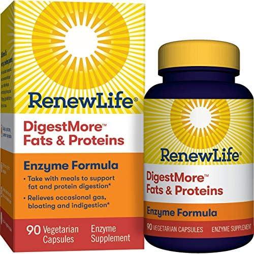 Renew Life Digestmore Vegetarian Capsules