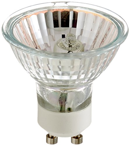 Satco S3517 120V 50-Watt MR16 GU10 Base Light bulb with FL 36 Beam Pattern with Lens