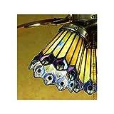 Meyda Tiffany 27474 Jeweled Peacock Fan Light Shade - 4