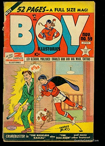 Boy Comics #59 FA/GD 1.5