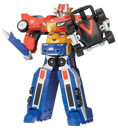 Power Ranger RPM Deluxe Formula Megazord High Octane Megazord (Power Rangers Rpm Formula)