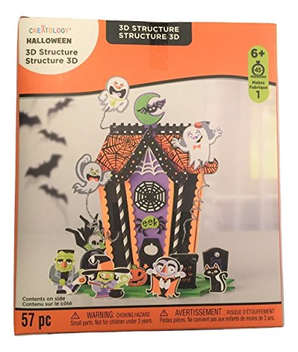 Creatology Halloween 3D Activity Kit ~ Monster Gathering (57 -