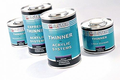 troton Master Diluant pour acrylique de produits 5L Thinner meilleure qualité alimentaire 5334