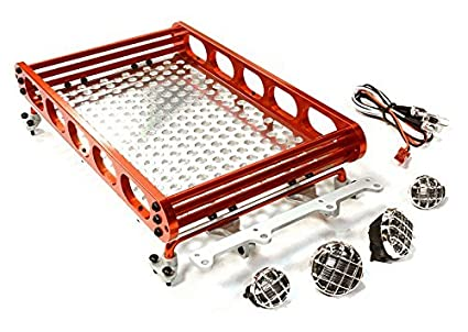 Amazon integy rc model hop ups c26610red realistic 110 scale integy rc model hop ups c26610red realistic 110 scale alloy luggage tray 188x110x38mm mozeypictures Images