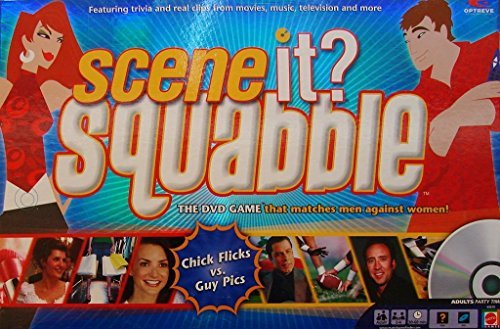 Scene It? Squabble Scene it? Chick Flicks vs Guy Pics