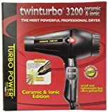 Twin Turbo 3200 Ceramic and Ionic Professional Hair Dryer, 1900...