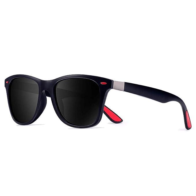 CHEREEKI Gafas de Sol Polarizadas, Gafas de Sol de Moda Hombre Mujer 100% Protección UV400 Gafas para Conducción
