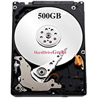 500GB 2.5' Laptop Hard Drive for HP Compaq replaces 451862-001, 452313-001, 454335-001