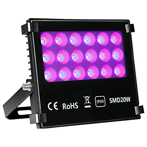 UV-LED-Flood-Light-KINGBO-Blacklights-with-8x1W-10W-double-chips-high-power-LEDs-for-Dance-Party-Stage-Lighting-Glow-in-The-Dark-Aquarium-Body-Paint-Fluorescent-Poster