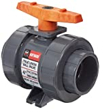 Hayward TB1400SE TB Series PVC Ball Valve, True Union, EPDM Seals, 4'' Socket