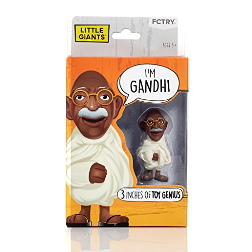 [Little Giants Toy Genius - Gandhi] (Ghost Face Collectors Edition Adult Costumes)