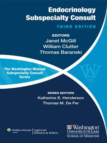 The Washington Manual of Endocrinology Subspecialty Consult (Washington Manual Subspecialty Consult