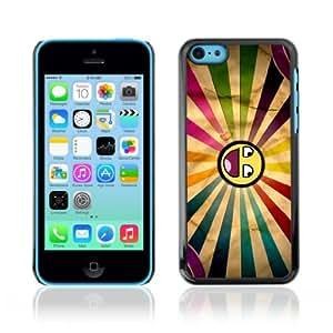 CQ Tech Phone Accessory: Carcasa Trasera Rigida Aluminio para Apple iPhone 5C - Cool Awesome Colorful Smiley