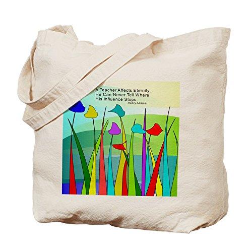 CafePress–teacher Quote manta–Gamuza de bolsa de lona bolsa, bolsa de la compra