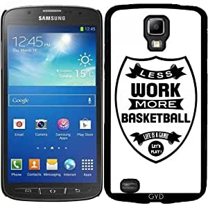 Funda para Samsung Galaxy S4 Active i9295 - Menos Trabajo Más Cesta by wamdesign