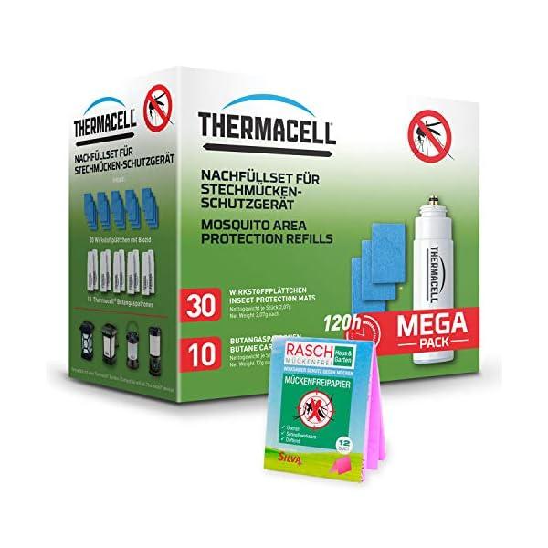 ThermaCell R-10 - Ricarica + carta antizanzare Rasch, set di protezione antizanzare 1 spesavip