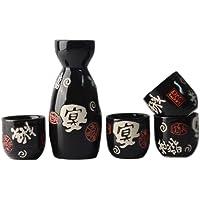 Fancy Pumpkin Tazas de cerámica Japonesa Sake Bottle