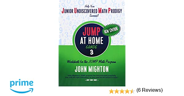 Amazon.com: JUMP at Home Grade 3: Worksheets for the JUMP Math ...