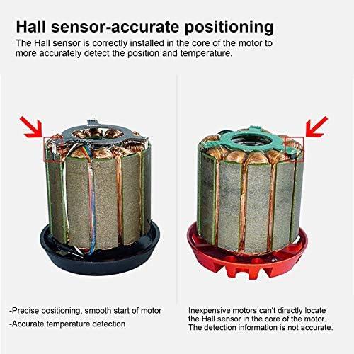 3-Fase Motor Borstelloze DC Motor Snelheidsregelaar voor DIY Afstandsbediening Auto DC36V H6355 160KV 1620 W