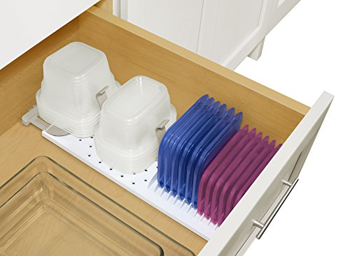 YouCopia StoraStack Food Container Storage and Drawer Organizer