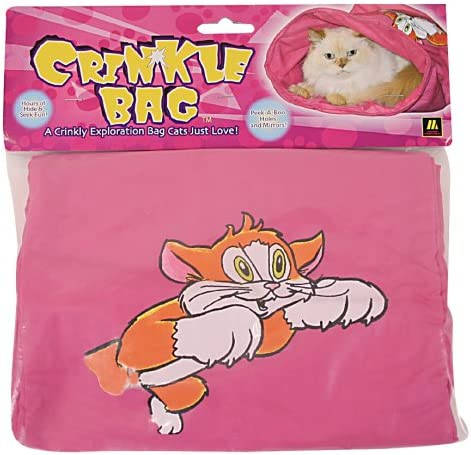 Multipet Crinkle Shopping Bag Cat Toy