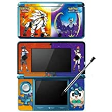 Skinhub Pokemon Sun and Moon Game Skin for Nintendo 3DS Console