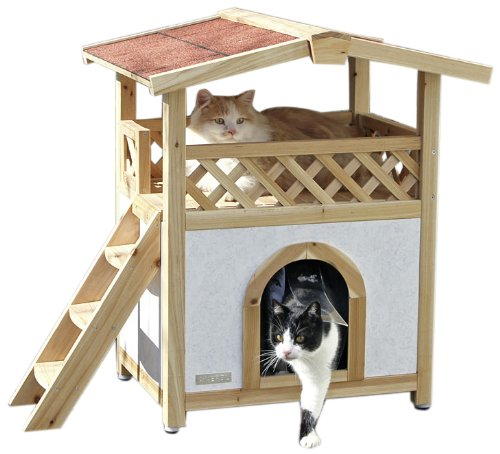 Katzenvilla - Katzenhaus Draußen